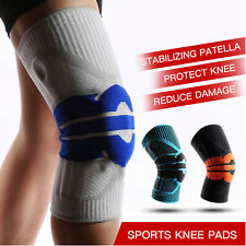 Knee Braces Wraps Compression Sleeve with Patella Gel Pads & Side Stabilizers