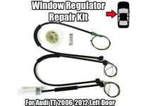 1x Window Regulator Repair Kit For Audi TT 2006-2012 Front Left Repair Kit