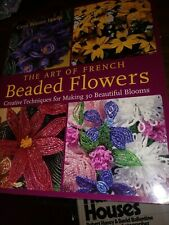 The Art of French Beaded Flowers Carol Benner Doelp instruction book bead craft