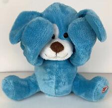 Giggles blue plush animated talking dog peekaboo