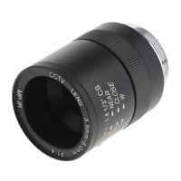 Manual IRIS Zoom 3.5-8mm C Mount Lens for CCTV Camera Industrial Microscope
