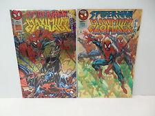 Spider-Man Maximum Clonage Alpha Omega Marvel Comic Books Acetate Covers Ron Lim