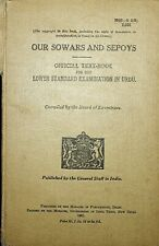 More details for 1941 bk our sowars & sepoys british army india official text urdu troops soldier