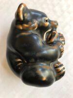 Royal Copenhagen Ceramic Porcelain Bear Figurine  #21434 Knud Kyhn VTG