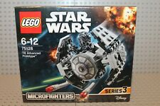 Lego 75128 TIE Advanced Prototype Microfighter Neu OVP Star Wars