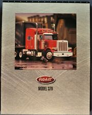 1999-2000 Peterbilt Model 379 Truck Brochure Sleeper Dump Excellent Original