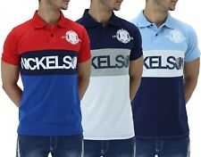 Nickelson Men's Cotton Polo T-Shirts, New Hip Hop Star Era G Time Money Is Sport
