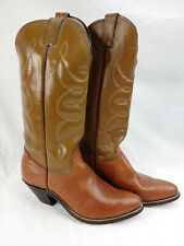 Women's Western Ornate Cowboy Boots Made In The USA Size 10 M