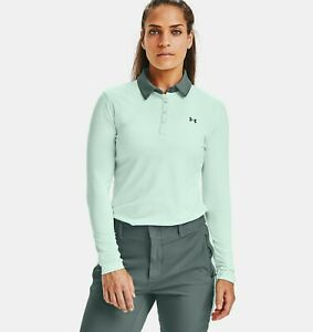 Under Armour Women's Zinger Long Sleeve Polo # Large