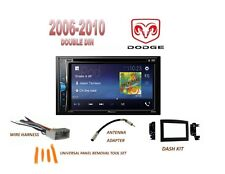 2006-2010 DODGE RAM 1500 2500 3500 BLUETOOTH TOUCHSCREEN DVD CAR STEREO KIT