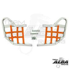 Predator 500 Polaris   Nerf Bars  Alba Racing  Silver bar Orange nets  208 T1 SO