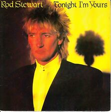 "ROD STEWART Tonight I'm Yours (Don't Hurt Me) PICTURE SLEEVE 7"" 45 rpm record"