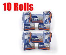10 Rolls Foma Fomapan 200 Creative 35mm 135-36  B&W  Film Dated 08/2019