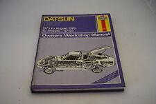 Datsun 120Y 1973-78 Owner's Workshop Manual (Haynes)