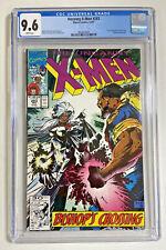 X-Men 283 CGC 9.6 white 1991 Marvel comic  1st Bishop