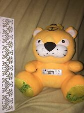 RARE YELLOW CAT / Bear SD/MMC CARD Speaker  Stuffed Animal Plush NEW NWOP READ