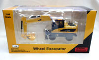 C-COOL 1/64 Scale Engineering Wheel Excavator Vehicle Model Collection Toys