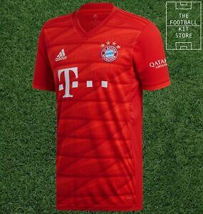 adidas Bayern Munich Home Shirt - FCB Football Jersey - Mens - All Sizes