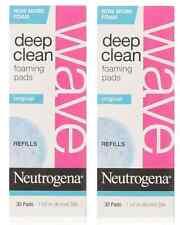 Neutrogena Wave Deep Clean Foaming Pad Refills, 30 Count (2 Pack)