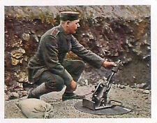 Grenade launcher German Soldiers Somme Deutsches Heer WWI WELTKRIEG 14/18 CHROMO