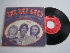SP 2 TITRES VINYL 45 T , THE BEE GEES ,  DON' T FORGET TO . POLYDOR 421 476 .