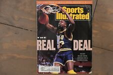 1991 SHAQUILLE O'NEAL LSU TIGERS SHAQ ROOKIE 1st Sports Illustrated Cover!