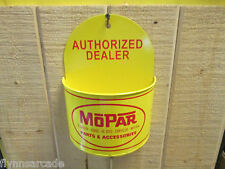 MOPAR Authorized Dealer Wall Tray Rack Sign Plymouth Dodge Chrysler Viper Cuda