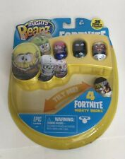 Mighty Beanz Beans Fortnite 4 Pack New