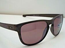 Authentic Oakley OO9342-11 Sliver Round Woodgrain Prizm Daily P Sunglasses $285