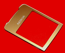 Original Nokia 8800 Sirocco Aussenglas LCD Display Frontglas inkl 3M Kleber Gold