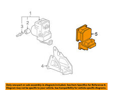 GM OEM ABS Anti-Lock Brake System-Control Module 15873162