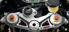 Adesivo in Resina 3D PIASTRA FORCELLA compatibile per MOTO BMW S1000RR 2009-2011