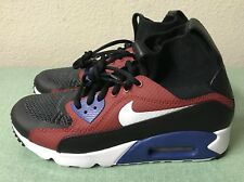 Nike Air Max 90 Superfly Tinker Hatfield HTM Black Red Mens Sz 7.5/ Women's Sz 9