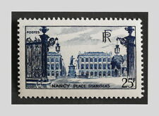 FRANCE 1948 - YT 822 PLACE STANISLAS NANCY - MNH