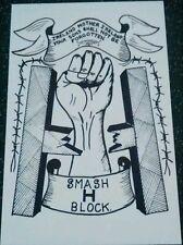 IRISH REPUBLICAN SMASH H-BLOCK BOBBY SANDS LONG KESH HMP MAZE SINN FEIN POSTER