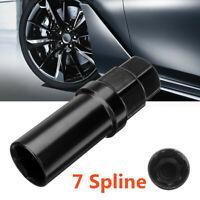 20mm 7 Spline Drive Tuner Lug Socket Wheel Nut Tuner Locking Key Removal