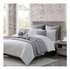 Wamsutta Logan Queen Full Comforter Set in Grey/White