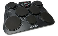 Alesis CompactKit 7 USB Portable Tabletop Drum Machine 7-Pad Kit w/ drumsticks