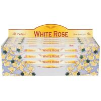 24 Tulasi  'White Rose' Incense Sticks  - Insence! (O77)