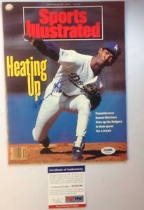 Ramon Martinez PSA Authenticated Sports Illustrated Sept 30th 1991 Dodgers
