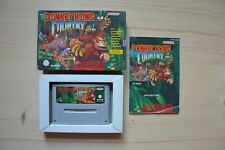SNES - Donkey Kong Country - (OVP, mit Anleitung)