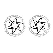 2x Rotor de Freno de Disco Bicicleta Bici MTB Acero Inoxidable 12x Perno T25