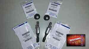 Genuine Ford 2004 2007 5.4L 3V VCT Solenoid & Seal F-150 Super Duty Set of (2)