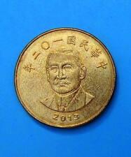 Taiwán 50 yuan 2013