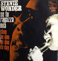 "STEVIE WONDER SING IN ITALIAN  - SE TU RAGAZZA MIA   7"" ITALY 1969"