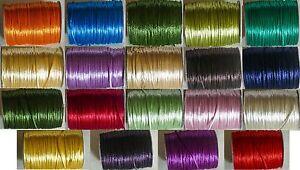 Satin Rope Ribbon 2mm. Like Rats Tail.Decorative Cord.Lacing