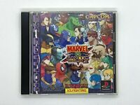 Marvel vs Capcom Clash of Super Heroes EX Edition PS1 PlayStation Fighting game