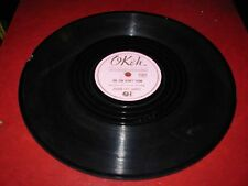 GOLDEN GATE QUARTET blind barnabus / sun didn't  ( religious ) 78 rpm okeh 6345