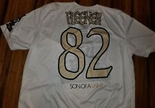 Corey Fleener black N gold softball game Steve Gleason New Orleans Saints Jersey