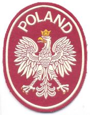POLAND Army National Coat of Arms sleeve patch for international missions #2, UN